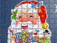 Флеш игра Рождественский пазл