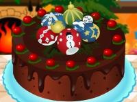 Флеш игра Рождественский торт