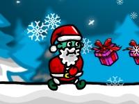 Флеш игра Рождественский забег