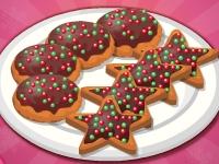 Флеш игра Рождественское шоколадное печенье