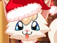 Флеш игра Рождество для Китти