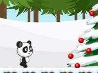 Флеш игра Рождество для панды