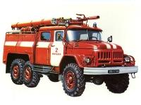 Флеш игра Русская пожарная машина
