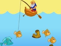 Флеш игра Рыбак