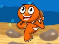 Флеш игра Рыбка и пузыри