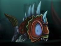 Флеш игра Рыбка мутант