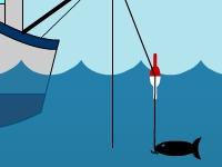Флеш игра Рыбная ловля в море