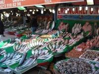 Флеш игра Рыбный рынок: Пазл