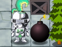 Флеш игра Рыцарь бомбермен