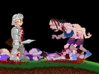 Флеш игра Рыцарь смерти RPG
