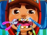 Флеш игра Сабвей Серф: Джейк у стоматолога