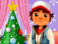 Флеш игра Сабвей Серф: Рождество