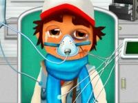 Флеш игра Сабвей Серф: Скорая помощь