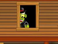 Флеш игра Салун с зомби