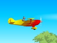 Флеш игра Самолет на батареи