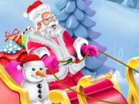 Флеш игра Санки для Санта Клауса