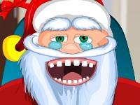 Флеш игра Санта Клаус у дантиста