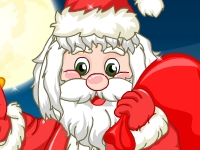 Флеш игра Санта Клаус в парикмахерской