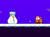 Флеш игра Санта бежит на Рождество за 60 секунд: pro версия