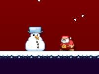Флеш игра Санта бежит на Рождество за 60 секунд