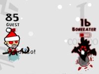 Флеш игра Санта против демонов