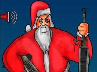 Флеш игра Санта против зомби