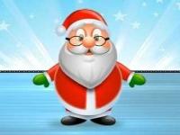 Флеш игра Санта собирает подарки