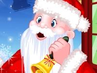 Флеш игра Санта в гостях у Тото