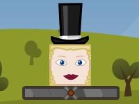 Флеш игра Сбей шляпу с головы