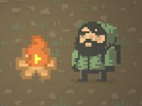 Флеш игра Сбежать от зомби