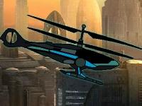 Флеш игра Сбор ресурсов на вертолете