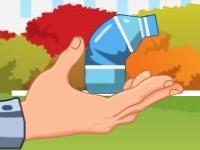 Флеш игра Сборщик отходов