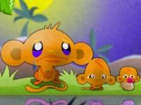 Флеш игра Счастливая обезьянка 3