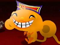 Флеш игра Счастливая обезьянка: Хаос
