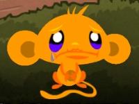Флеш игра Счастливая обезьянка: Пасха