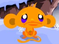 Флеш игра Счастливая обезьянка: Северный полюс