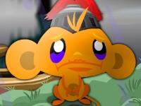 Флеш игра Счастливая обезьянка в замке