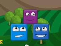 Флеш игра Счастливые блоки