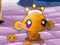 Флеш игра Счастливые обезьянки: Канун Рождества