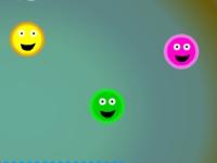 Флеш игра Счастливые шарики