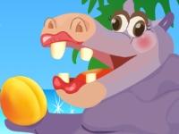 Флеш игра Счастливый бегемот