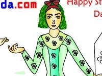 Флеш игра Счастливый день Святого Патрика