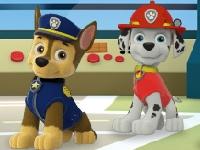 Флеш игра Щенячий патруль: Щенки-спасатели