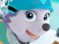 Флеш игра Щенячий патруль: Снежный спуск