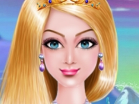 Флеш игра Сделай из Эльзы королеву