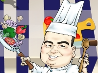 Флеш игра Сделай салат как мастер-шеф