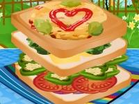 Флеш игра Сделай сэндвич