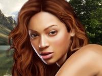Флеш игра Секреты красоты от Бейонсе