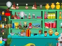 Флеш игра Секреты магазина: Поиск предметов