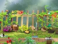 Флеш игра Секреты в саду: Найди предметы